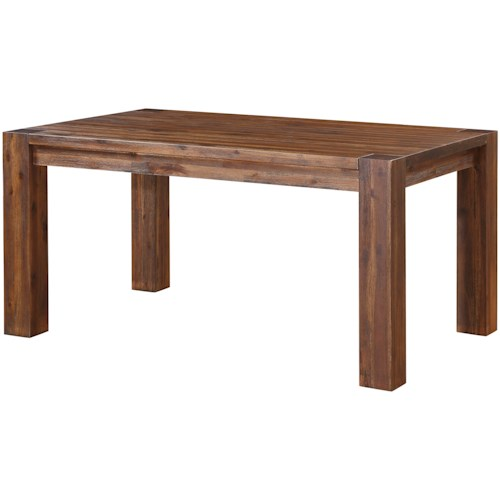 Modus International Meadow Dining Rectangle Dining Table with Leaves
