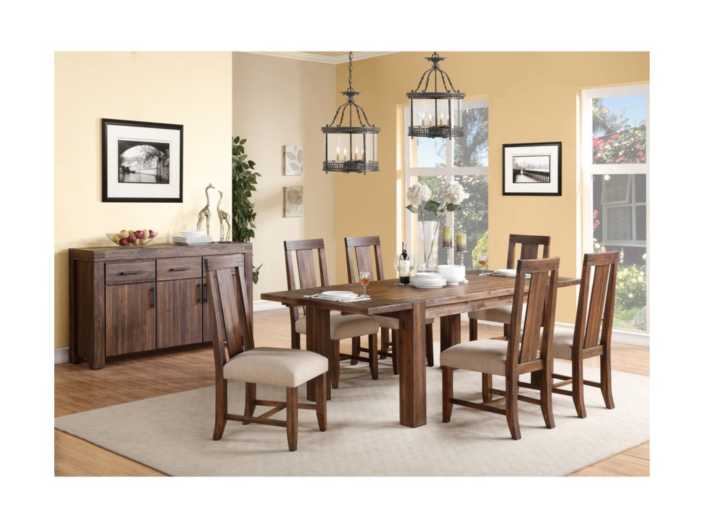 Modus International Camden FieldsRectangle Dining Table