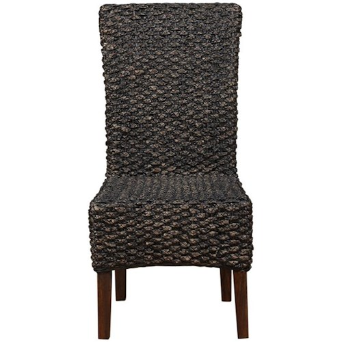 Modus International Meadow Dining Woven Water Hyacinth Dining Chair