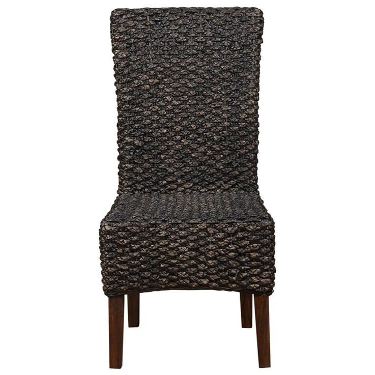 Modus International Meadow DiningWater Hyacinth Dining Chair ...
