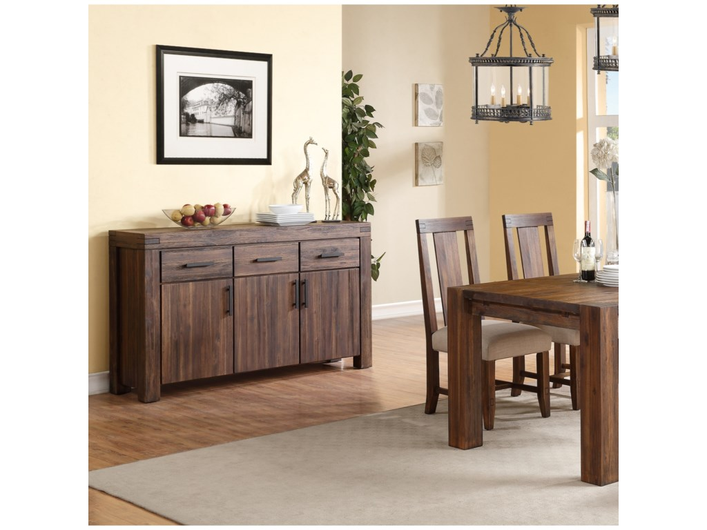 Modus International Meadow DiningThree Door Sideboard