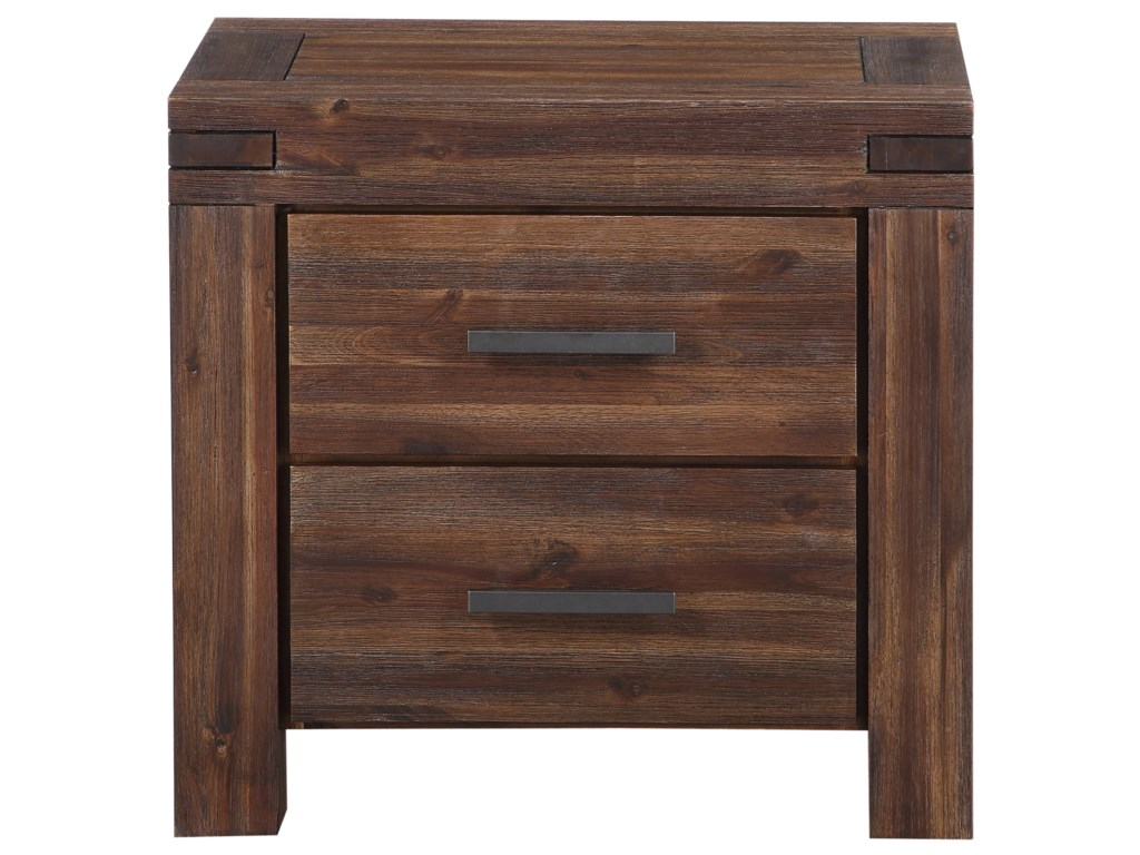 Modus International Meadow2-Drawer Nightstand