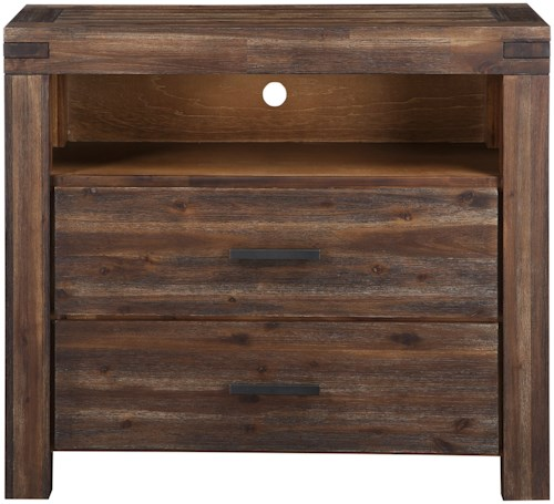 bedroom media chest. Modus International Meadow Bedroom 2 Drawer Media Chest with Wire Management