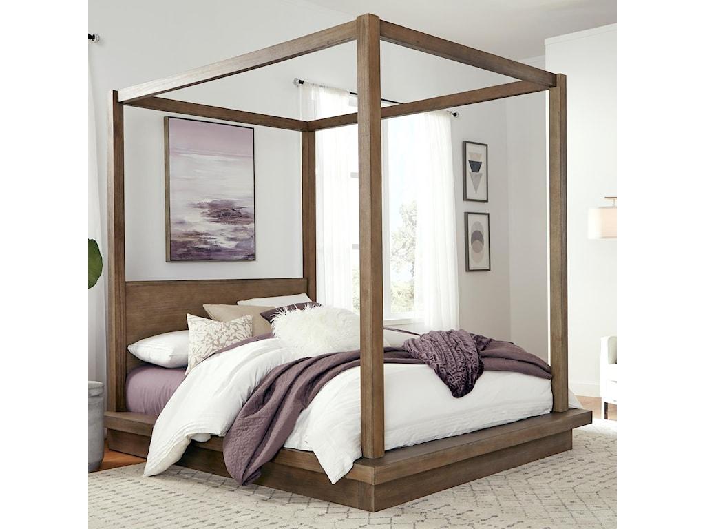 Modus International MelbourneQueen Canopy Bed