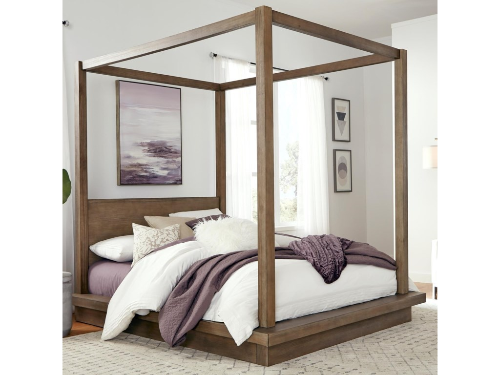 Modus International MelbourneCalifornia King Canopy Bed