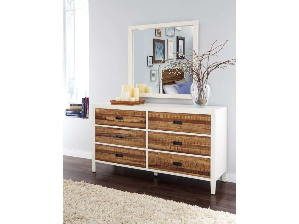 Modus International Montana6-Drawer Dresser