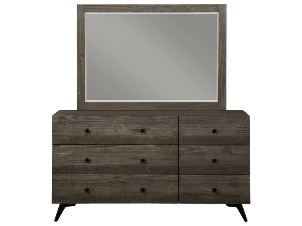 Modus International NevadaDresser and Mirror Set