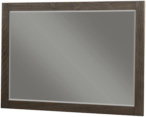 Modus International Nevada Rectangular Solid Wood Mirror