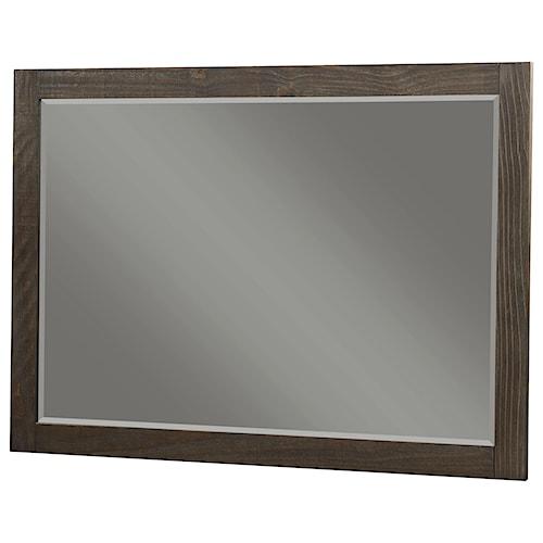 Modus International Nevada Rectangular Solid Wood Mirror