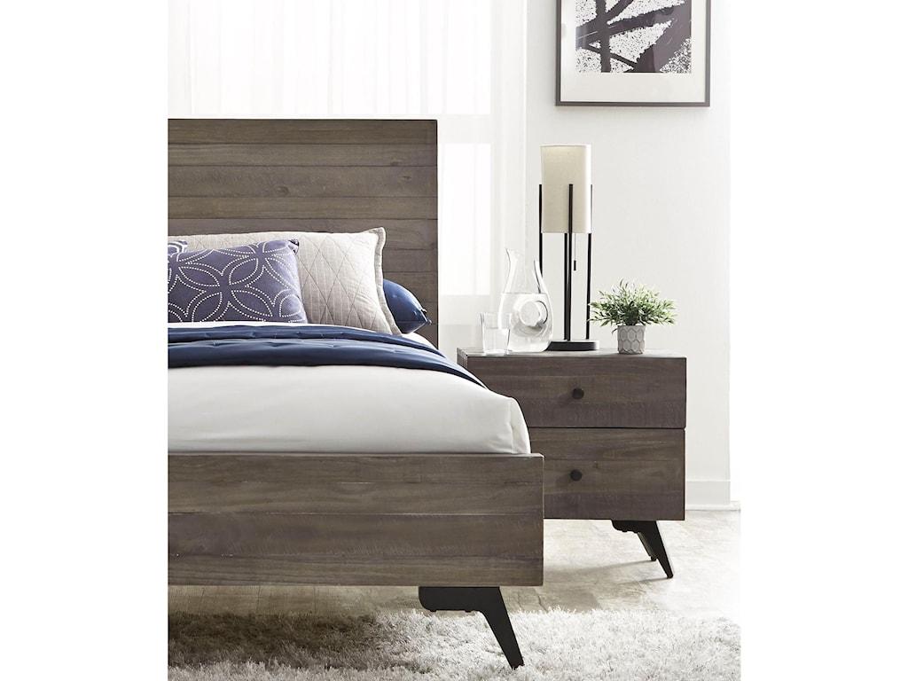 Modus International NevadaKing Low-Profile Bed
