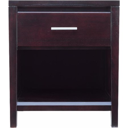 1 Drawer Nightstand with Power
