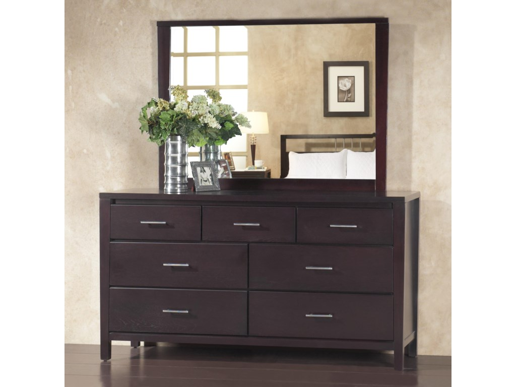 Modus International Nevis7 Drawer Dresser