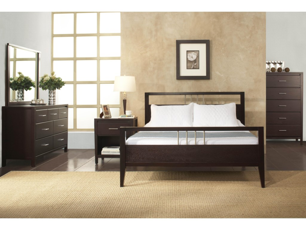 Modus International NevisCal King Platform Bed