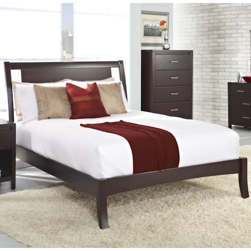 Modus International Nevis Califiornia King Nevis Low Profile Bed