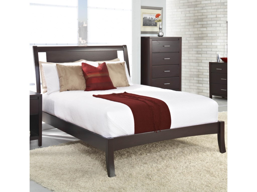 Modus International NevisQueen Low-Profile Bed
