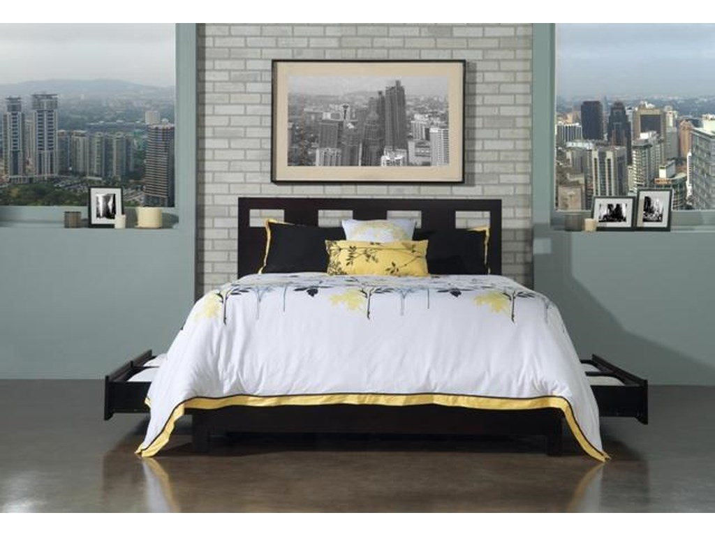 Modus International NevisQueen Riva Storage Bed