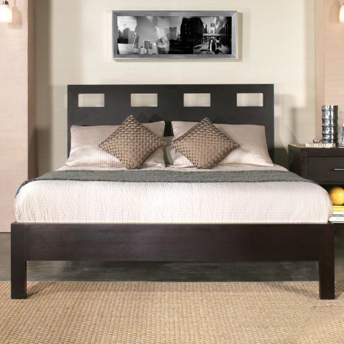 Picture of: Modus International Nevis Queen Riva Platform Bed Conlin S Furniture Platform Beds Low Profile Beds