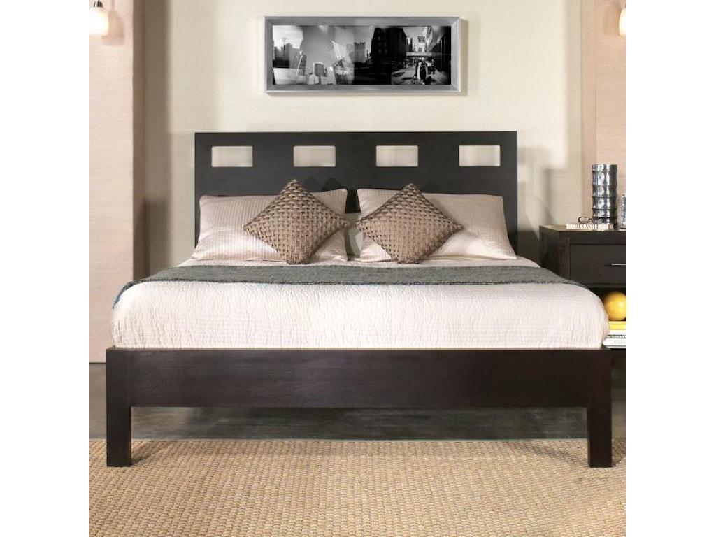 Modus International NevisQueen Platform Bed
