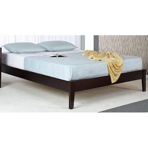 Modus International Nevis Twin Simple Platform Bed