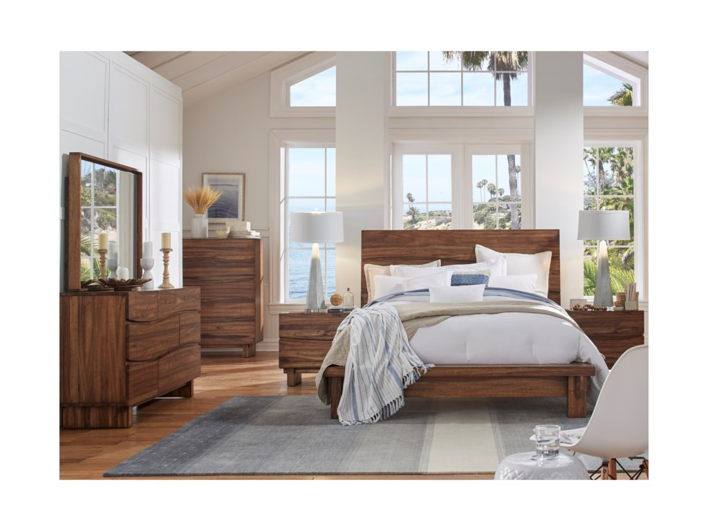 Modus International OceanCalifornia King Bedroom Group