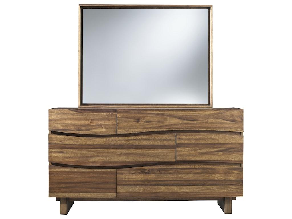 Modus International OceanDresser and Mirror Set
