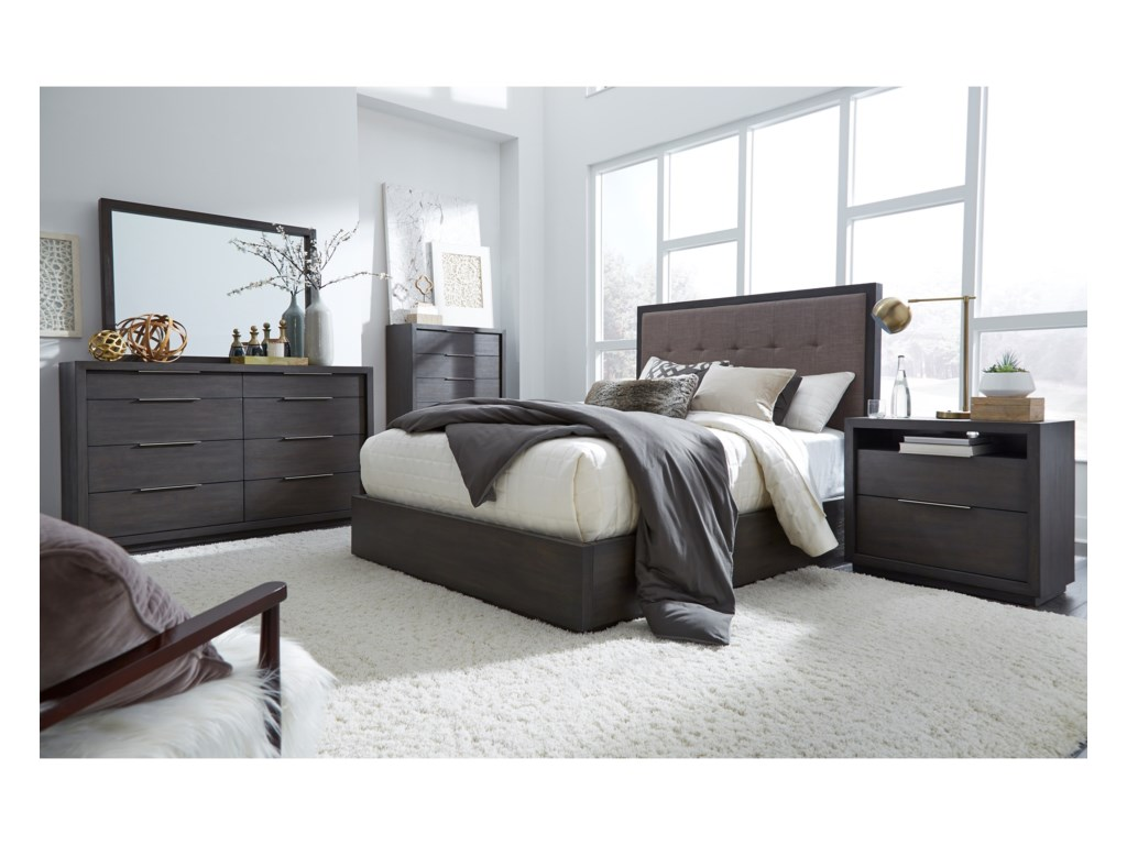 Modus International OxfordQueen Storage Bed