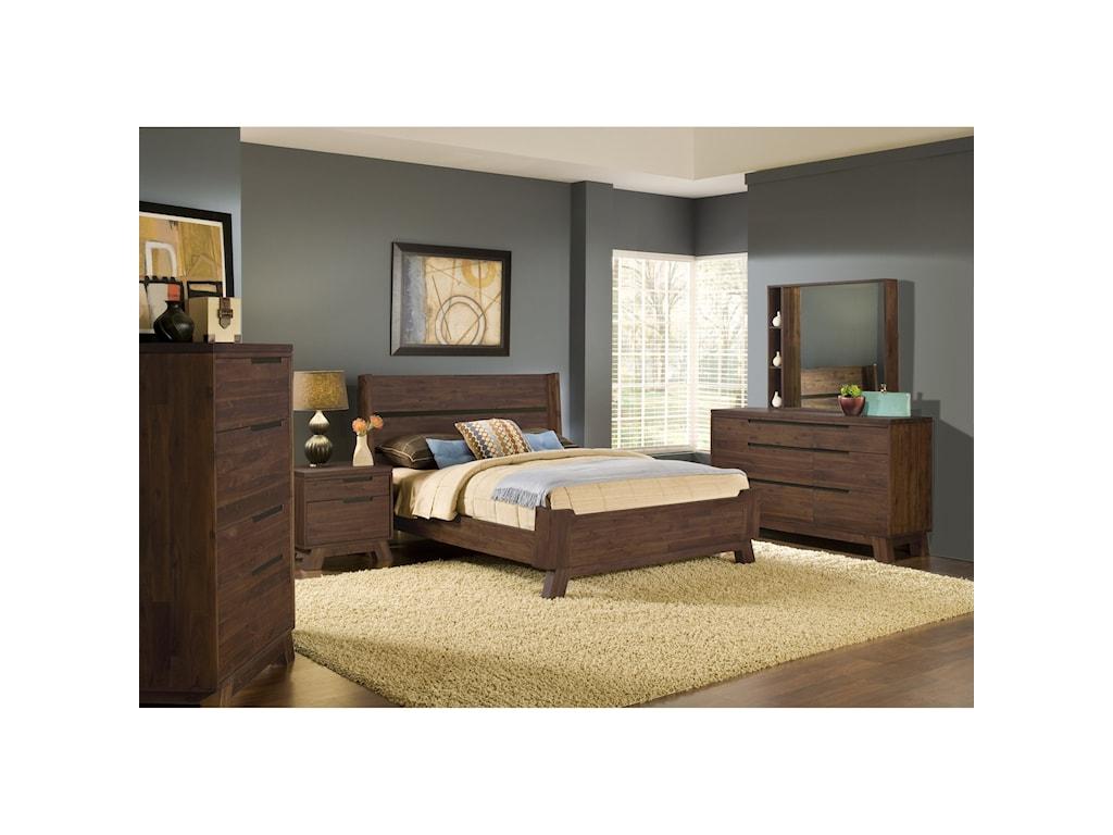 Modus International PortlandCalifornia King Bedroom Group