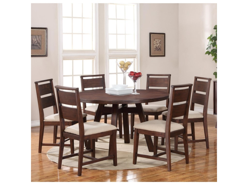 Modus International Portland7-Piece Table and Chair Set