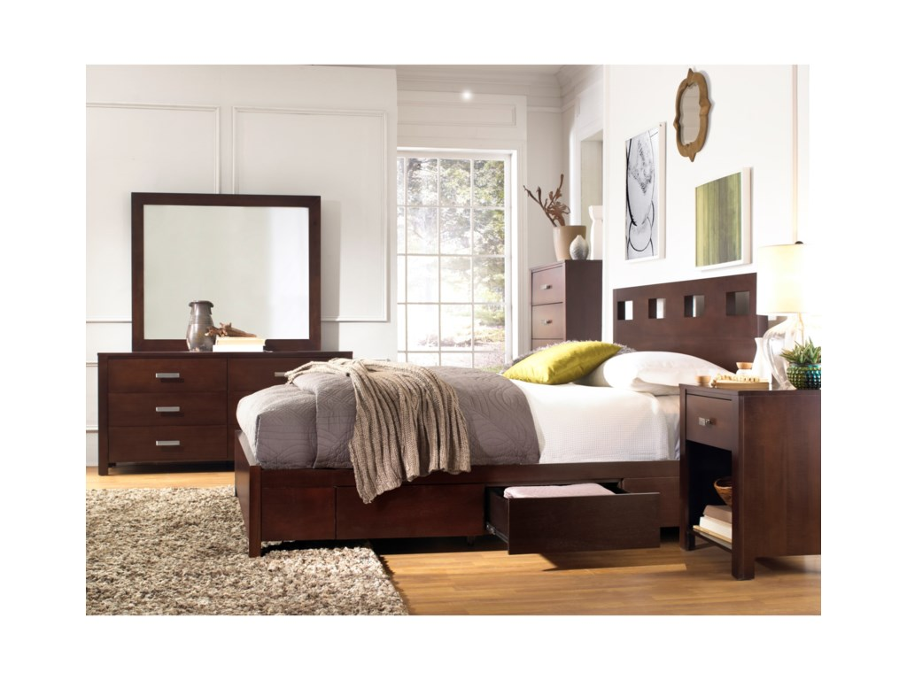 Modus International RivaKing Bedroom Group