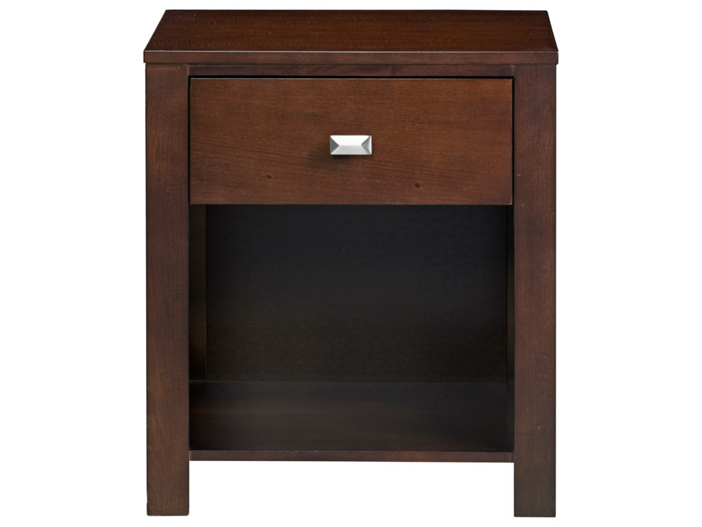 Modus International Riva1-Drawer Nightstand