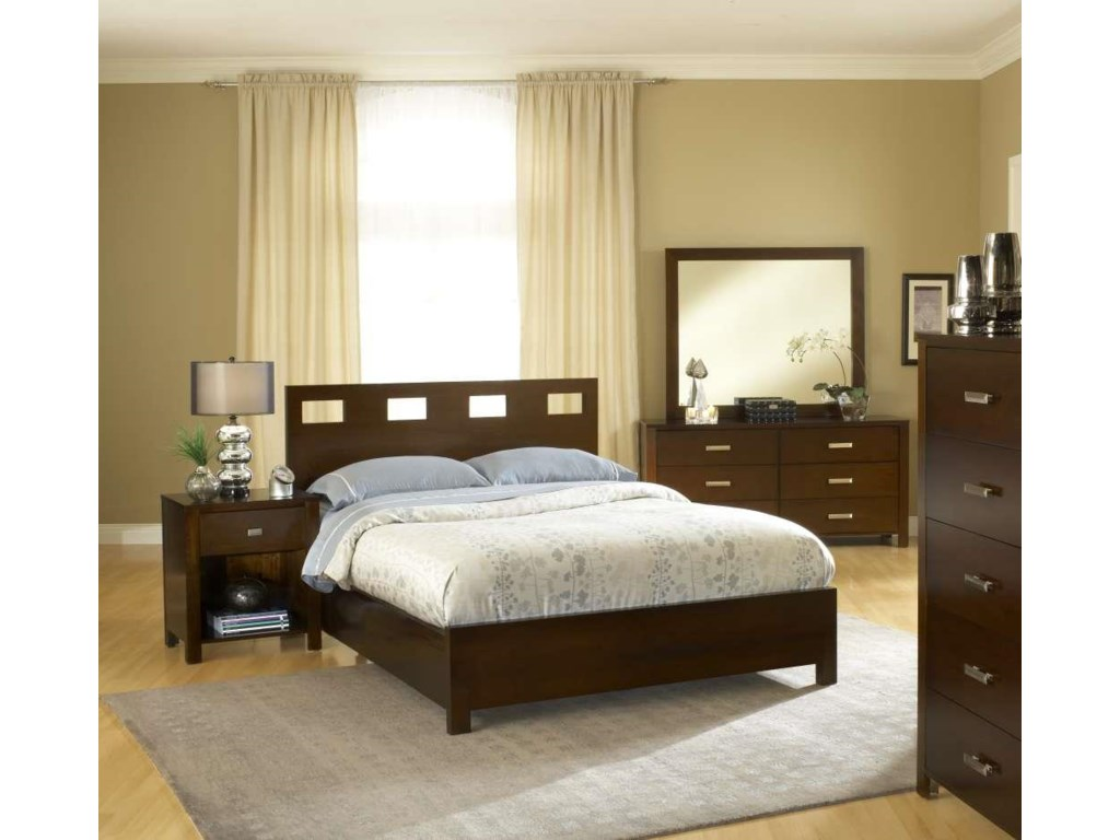 Modus International RivaCalifornia King Bed