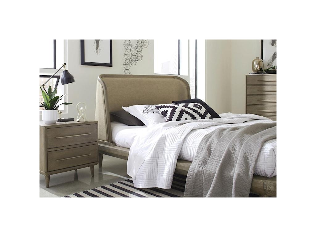 Modus International SpindleFull Upholstered Bed