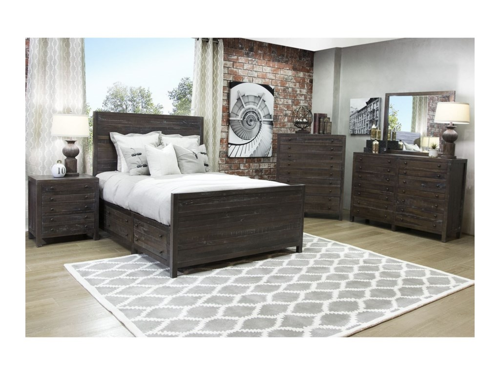 Modus International TownsendQueen Bedroom Group