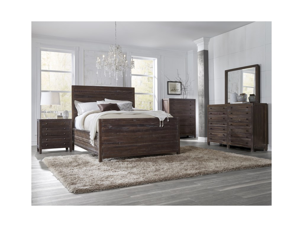 Modus International TownsendQueen Bedroom Group