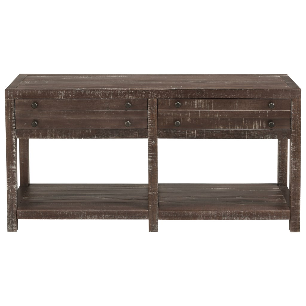 Modus International Townsend 8t0623 Console Table With 2 Drawers  ~ Sofa Tables With Drawers