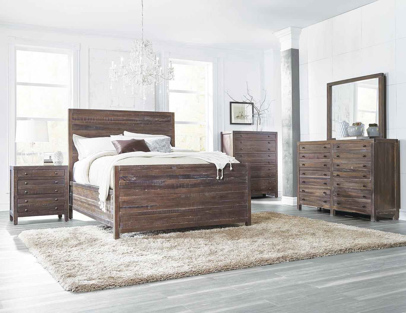 Modus International TrentonKing 4 Piece Bedroom Set