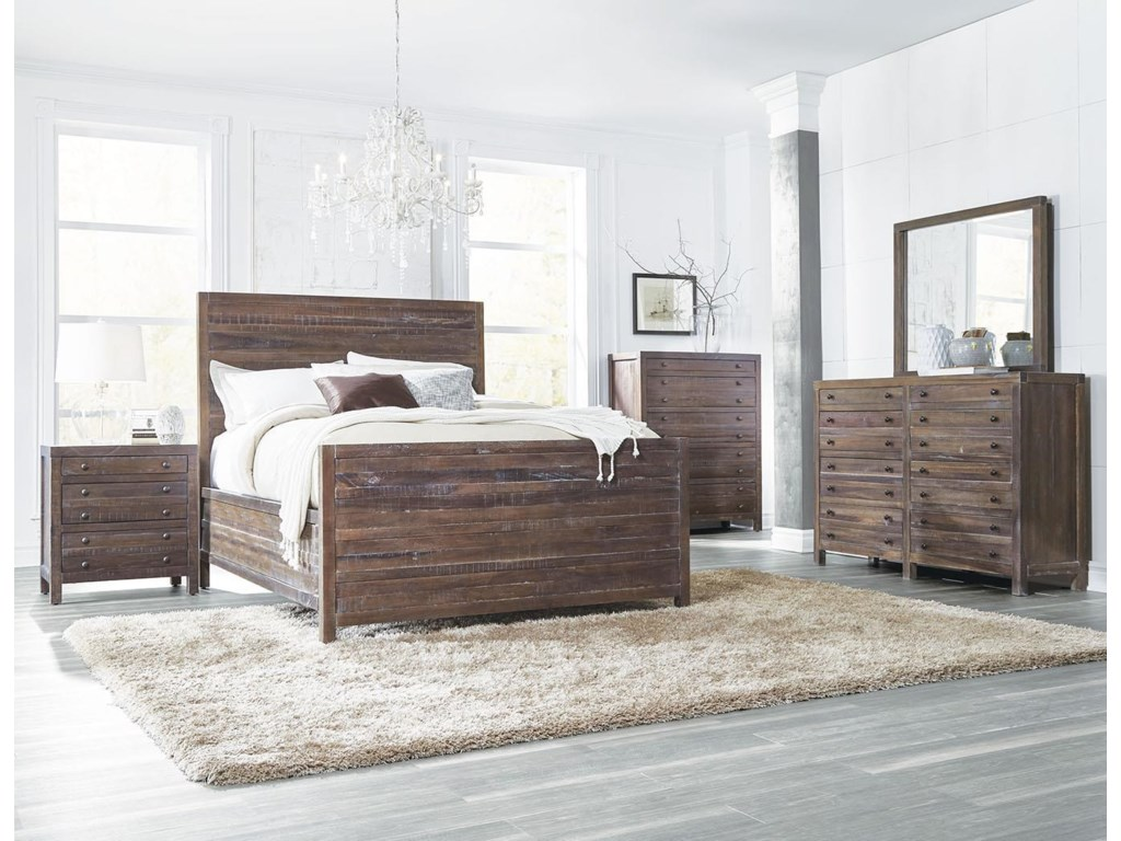 Modus International TrentonKing Bed