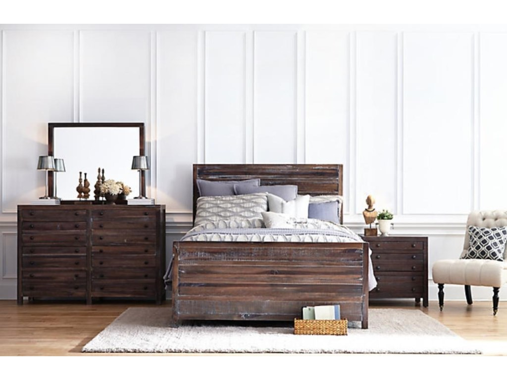 Modus International TrentonQueen 4-Piece Bedroom Set