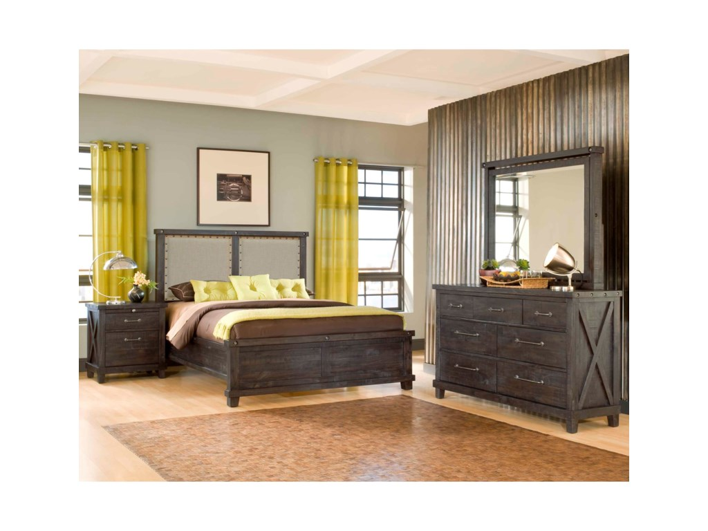 Modus International YosemiteQueen Bedroom Group