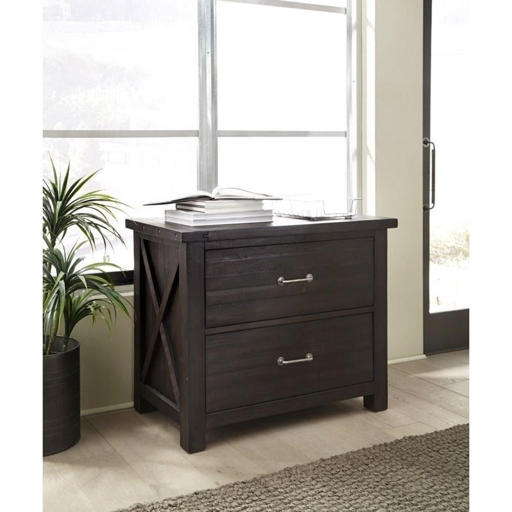 Modus International Yosemite Solid Wood Lateral File Cabinet