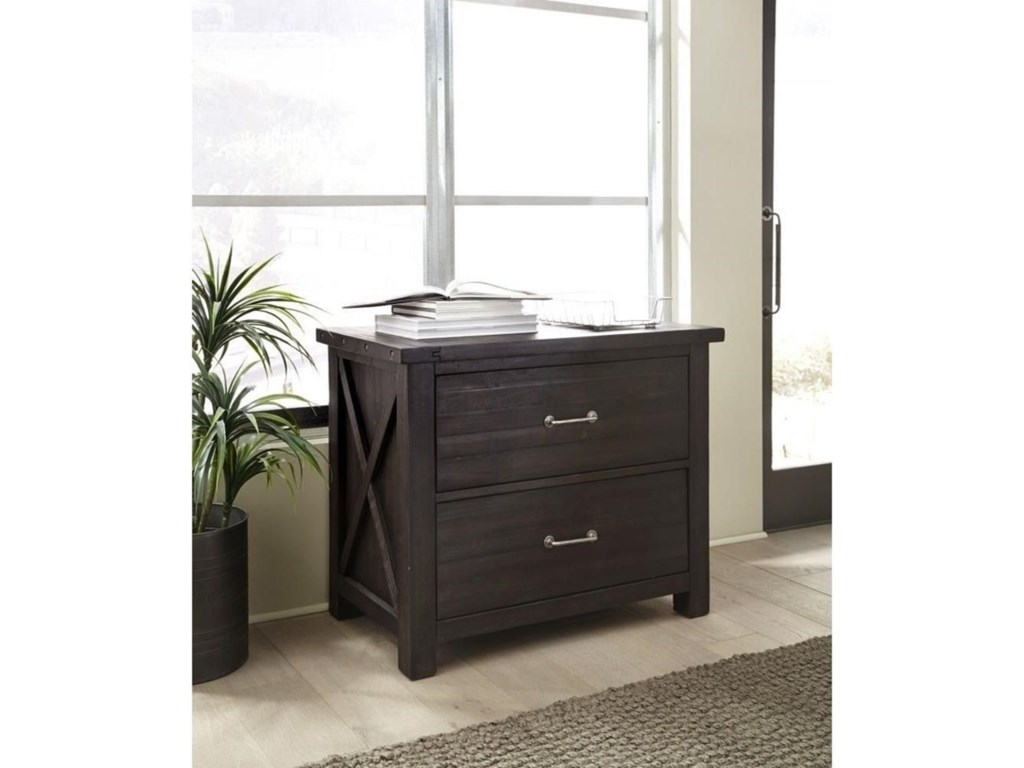 Modus International YosemiteSolid Wood Lateral File Cabinet