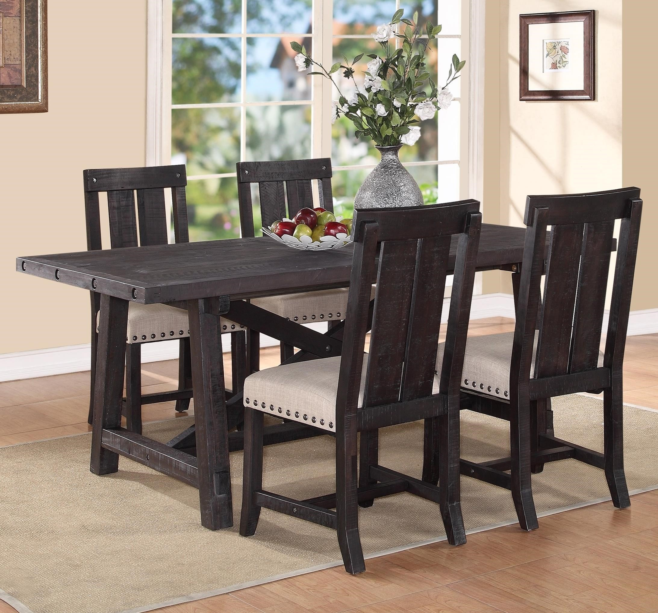 Modus International Yosemite5 Piece Rectangular Dining Table Set ...