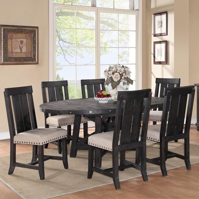 Modus International Yosemite 7 Piece Cafe Dining Table And Chair Set