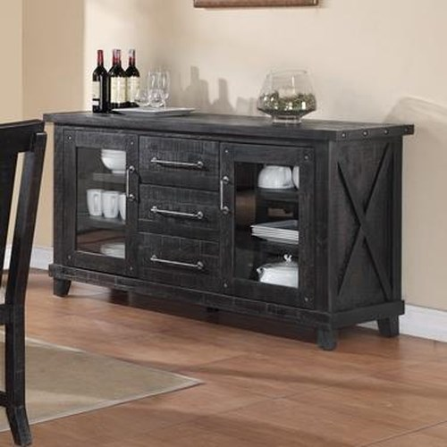 Modus International Yosemite Sideboard with Drawer and Shelf Storage