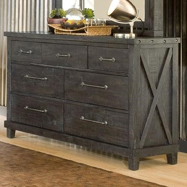 Modus International Yosemite 7 Drawer Rustic Dresser