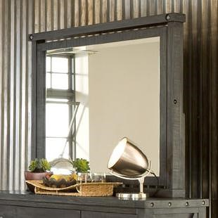 Modus International Yosemite Rustic Square Mirror