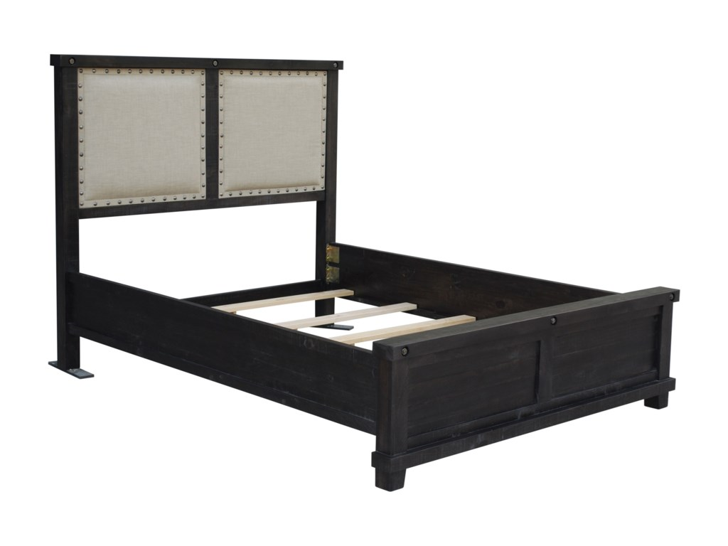 Modus International YosemiteLow Profile Cafe QN Fabric Bed