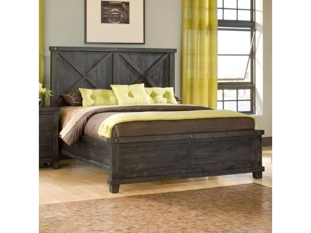 Modus International YosemiteLow Profile Cafe Queen Wood Bed