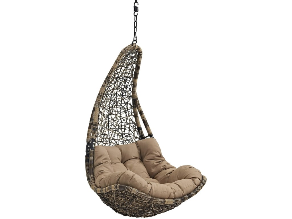 Modway AbateOutdoor Patio Swing Chair