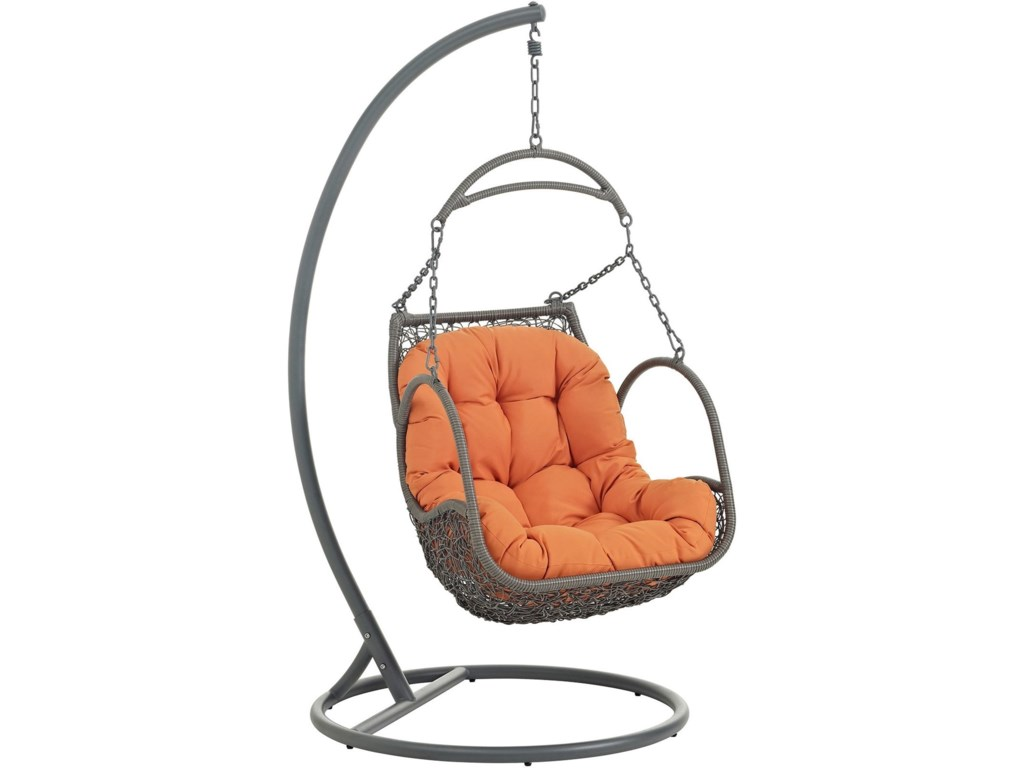 Modway ArborOutdoor Patio Wood Swing